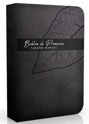 Biblia De Promesa RVR60 Tamaño Manual Piel Especial Negro [Bíblia]