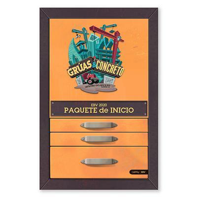 Kit Paquete De Inicio 2020 Gruas Y Concreto (Caja ) [Kit]