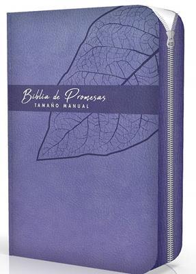 Biblia De Promesas RVR60 Tamaño Manual (Con cierre)