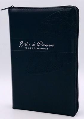 Biblia De Promesa RVR60Tamaño Manual Letra Grande (Cierre) [Biblia]