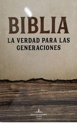 Biblia La  Verdad Para Las Generaciones (Rústica) [Biblia]
