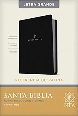Biblia NTV/Edicion De Referencia/Letra Grande/Negro [Biblia]