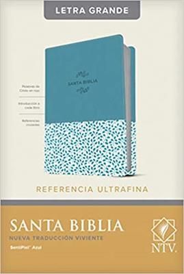 Biblia NTV/Edicion De Referencia/Letra Grande/Azul [Biblia]