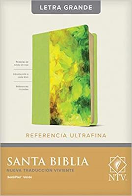 Biblia NTV/Edicion De Referencia/Letra Grande/Verde [Biblia]