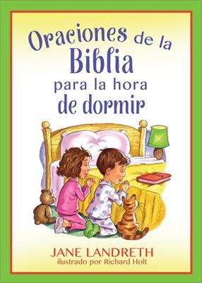 Oraciones De La Biblia Para La Hora De Dormir (rustica) [Libro]