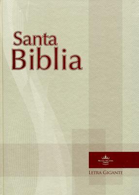 Biblia Letra Gigante (Tapa Dura) [Biblia]
