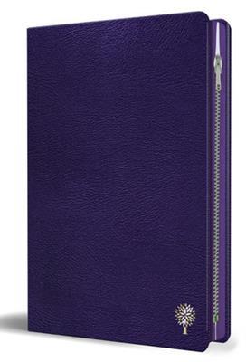Biblia RVR 1960/Letra Grande/Imitacion Piel Morado/Con Cremallera (Imitación piel )