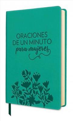 Oraciones De Un Minuto Para Mujeres/Imitacion Piel Aqua (Imitación piel )