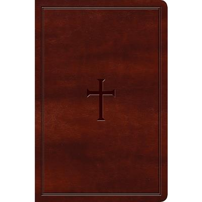 Biblia KJV/Letra Grande/Cafe/Ingles (Tipo piel )