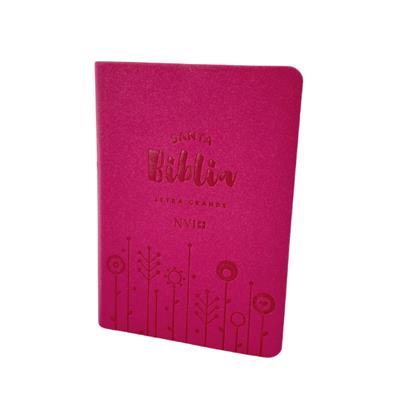 Biblia NVI/040CLG/Fucsia/Cierre (Imitación piel-Cremallera-ziper)