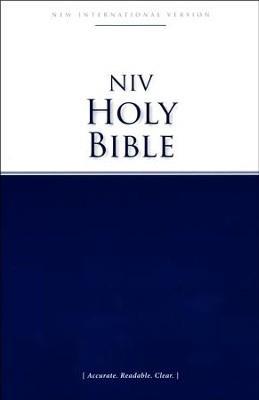 Biblia NIV/Ingles (Tapa blanda)