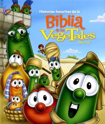 Historias favoritas de la Biblia de los vegetales