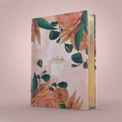 Biblia RVR60/Centrada En Cristo/Floral/Simil Piel (Imitación piel )