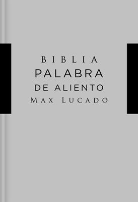 Biblia NVI/Lucado/Palabra De Aliento/Tapa Dura/Gris/Interior A Dos Colores (Tapa dura)