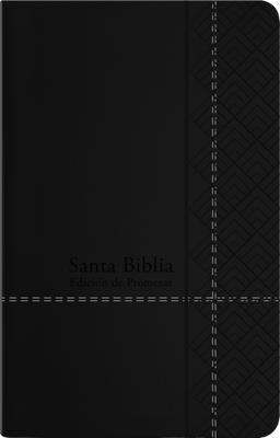 Biblia RVR60/De Promesas/Tamaño Manual/Negro/Imitacion Piel (Tapa blanda)