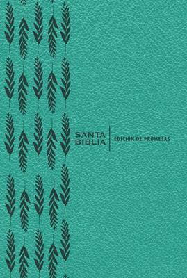 Biblia RVR60 De Promesas/Letra Grande/Turquesa/Indice/Imitacion Piel (Imitación piel )
