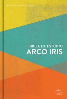 Biblia De Estudio/RVR60/Arcoiris/Multicolor/Tapa Dura/Nueva (Tapa Dura) [Biblia de Estudio]