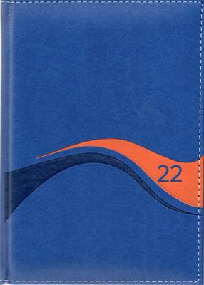 Agenda Diario De Promesas 2022 Hombre Azul (Tapa Dura) [Agenda]