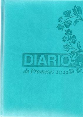 Agenda Diario De Promesas 2022 Mujer Turquesa