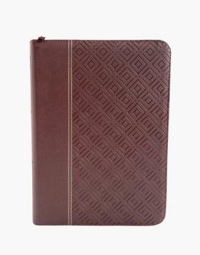 Biblia/RVR086cZTILGi /Vino Tinto/Indice Letra Gigante (Imitación piel)