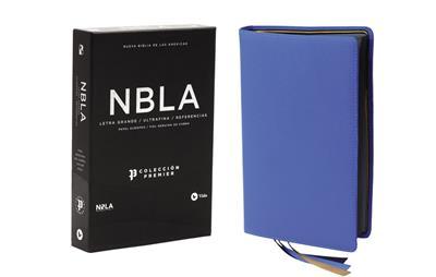 Biblia/NBLA/Coleccion Premier/Piel Ultrafina/Letra Grande/Azul Claro (Piel Ultrafina)