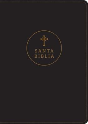 Biblia RVR60/Edicion De Referencia/Ultrafina/Negro/Letra Grande (Tapa blanda)