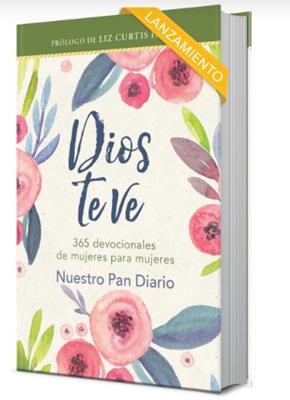 Dios Te Ve /Devocional 365 dias Tapa Dura (Tapa Dura)