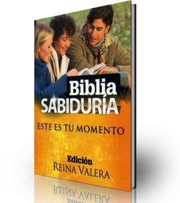 Biblia sabiduría este es tu momento (Rústica)