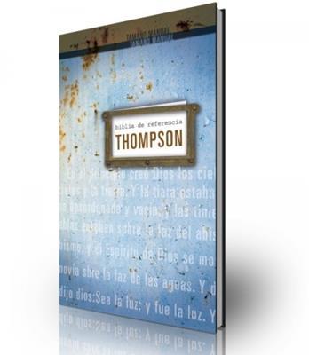 Biblia de Referencia Thompson RVR60 tamaño personal (Tapa Dura)