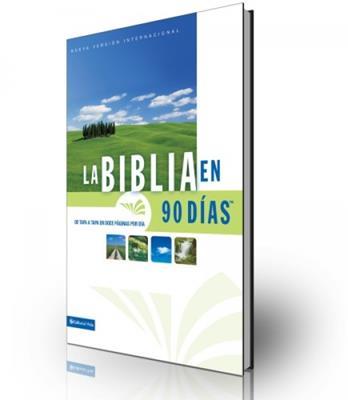 La biblia NVI en 90 días (Rústica)