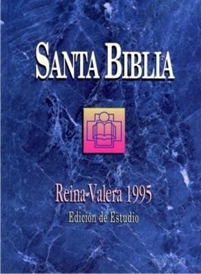 Biblia de estudio RVR 95 tapa dura (Tapa Dura)