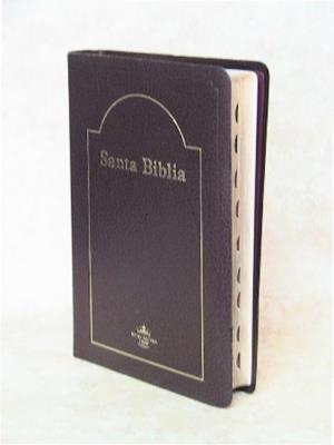 Biblia indice concordancia semifina letra grande (Imitacion piel)
