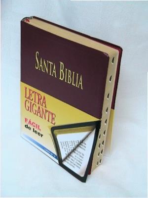 Biblia  letra gigante indice (Imitacion piel)