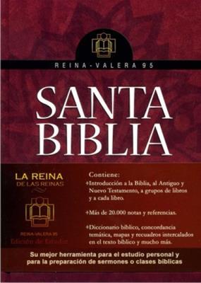 Biblia estudio rvr 95 (Tapa Dura)