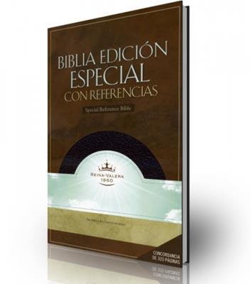 Biblia edición espacial con referencias (Piel fabricada)