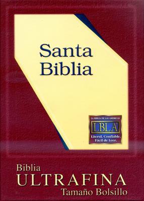 Santa biblia ultrafina (Piel fabricada)