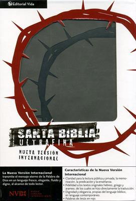 Santa Biblia ultrafina NVI (Simil Piel) [Biblia]