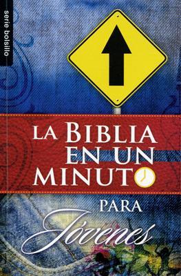 La biblia en un minuto para jóvenes (Rústica) [Bolsilibro]