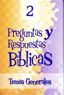 Preguntas y respuestas bíblicas -  N° 2 [Juego]