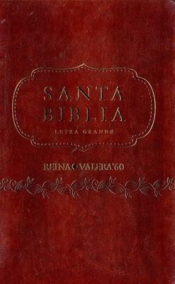 Santa biblia  letra grande (Cuero) [Bíblia]