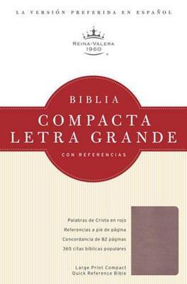 Biblia compacta letra grande (Piel) [Biblia]