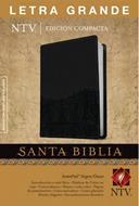 Biblia compacta letra grande negro onice