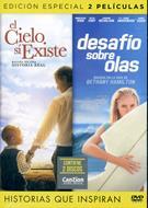 Películas: El cielo sí existe y Desafío sobre olas (Plástico) [DVD - Película]