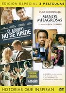 Películas: El equipo no se rinde y manos milagrosas (Plástico) [DVD - Película]