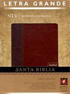 Santa Biblia NTV  Referencia Ultrafina LG Duotono Café Café claro