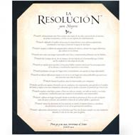 Resolución Certificado para mujeres