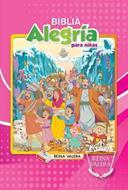 Biblia alegría para niñas (Tapa dura) [Biblia]