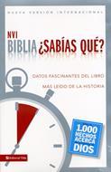 Biblia ¿Sabías qué? (Rústica) [Biblia]