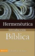 Hermenéutica - Introducción bíblica