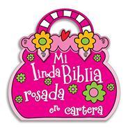 Mi linda Biblia rosada en cartera (Tapa dura) [Cartilla]